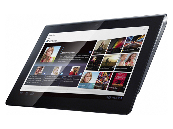 Sony Tablet S et P : réservation disponible au Sony Store de Paris !