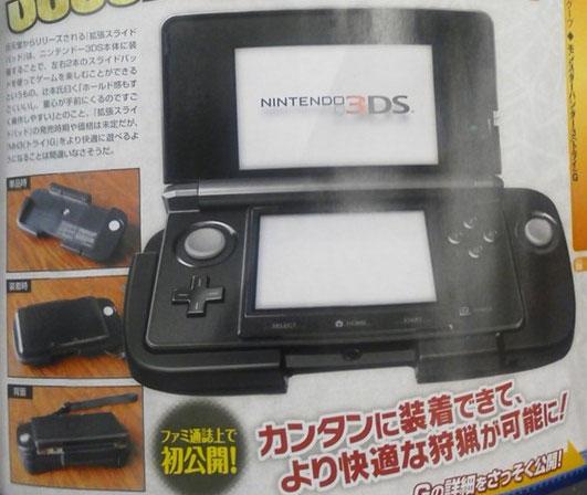 Serait-ce le deuxième stick analogique de la Nintendo 3DS