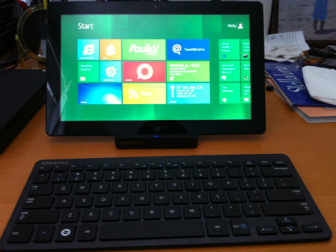 Une tablette Samsung sous Windows 8 disponible sur eBay !