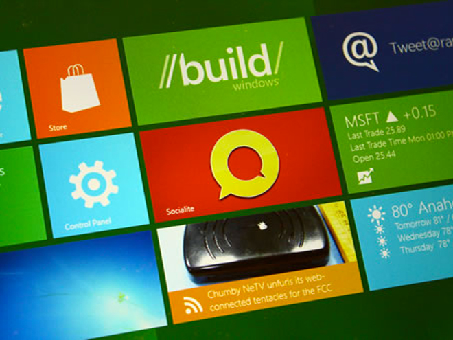 Microsoft BUILD : une tablette hybride sous Windows 8