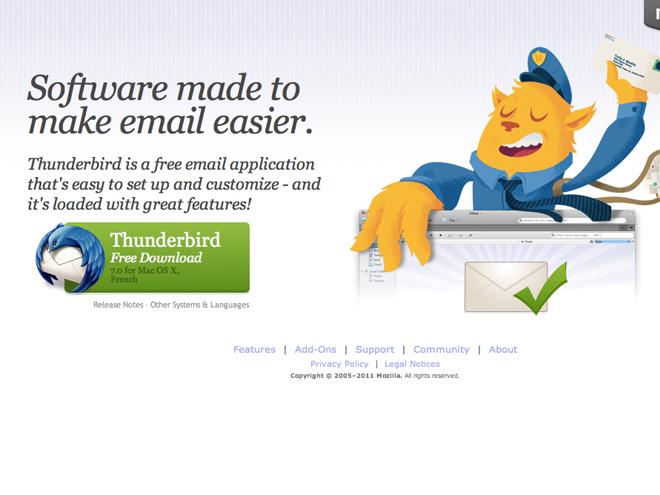 Thunderbird 7 est de sortie
