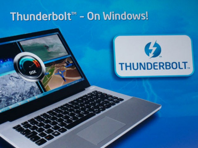 Thunderbolt arrive sur les PC sous Windows !