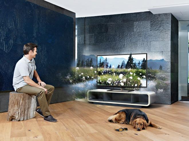 Toshiba : bientôt une télévision 3D... sans lunettes !