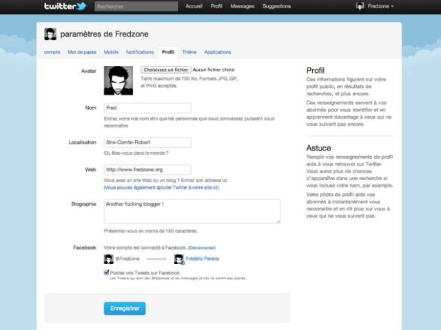 Twitter peut maintenant publier sur votre compte Facebook