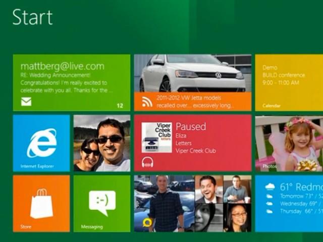 """Windows 8 sur une tablette Nvidia """"Kal-El"""" en vidéo"""