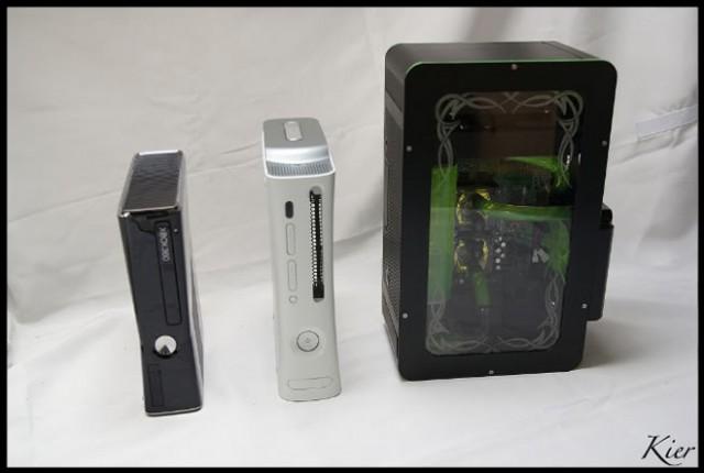 Xbox Supreme, un casemod réalisé avec deux Xbox 360 !