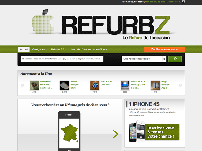 Refurbz, le Refurb de l'occasion