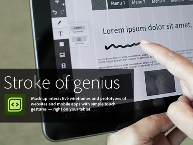 Adobe Touch Apps, la Creative Suite de nos tablettes tactiles