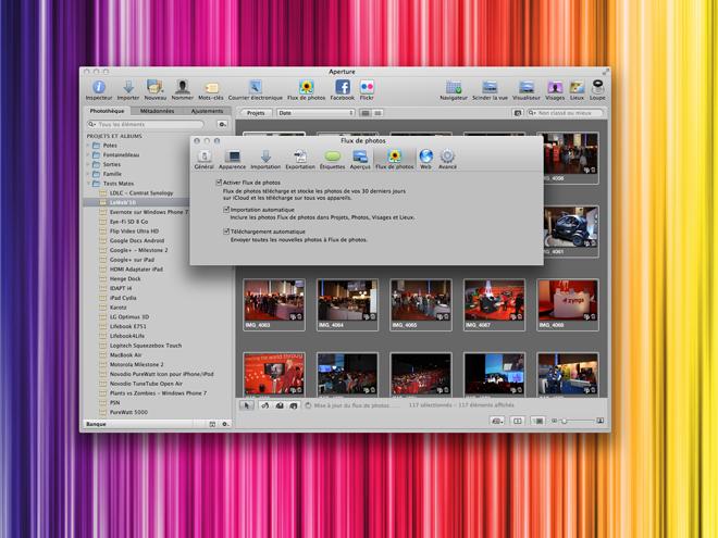 iPhoto 9.2 et Aperture 3.2 compatibles iCloud