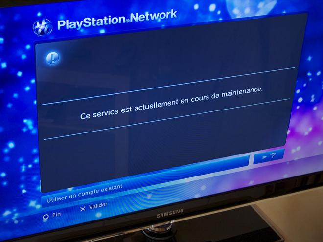Le Playstation Network a (encore) été attaqué !