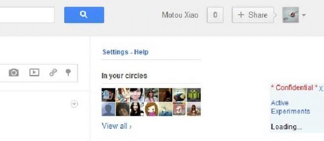 Google serait en train de tester une nouvelle barre de navigation