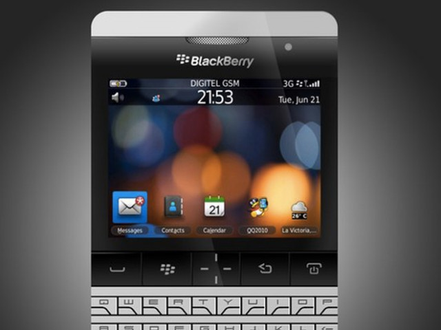 BlackBerry Porsche : lancement le 27 octobre ?