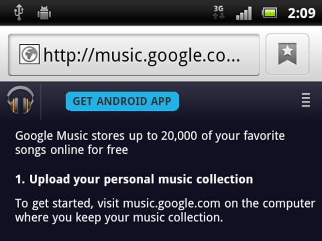 Boutique MP3 sur Google Music : une preuve de son arrivée prochaine