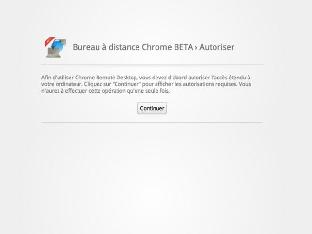 Chrome Remote Desktop, pour prendre le contrôle d'un ordinateur depuis Google Chrome