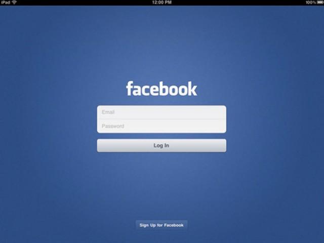 Facebook est disponible sur iPad