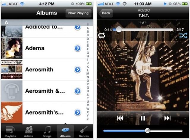 GMusic, Google Music iOS