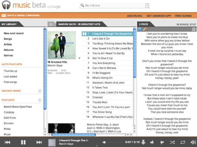 Google Music : bientôt de la vente de MP3 ?