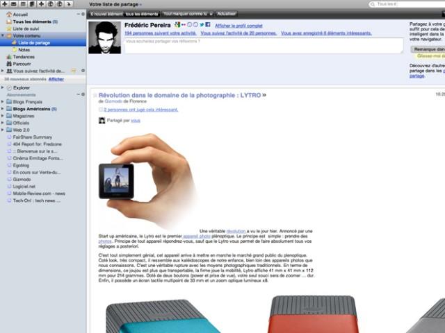 Google Reader : bientôt une nouvelle version