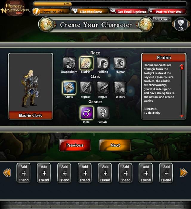 Dungeons & Dragons débarque sur Facebook !