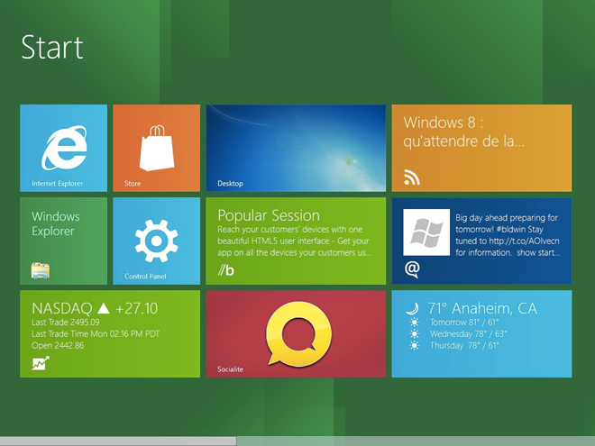 Dell et HP pourrait miser sur des tablettes Windows 8