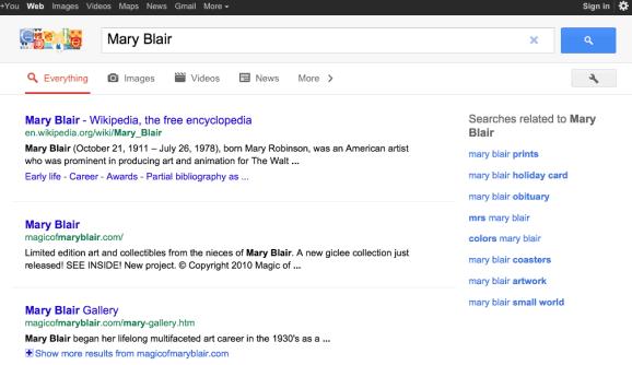 Google : une nouvelle interface pour tablette tactile ! (encore)