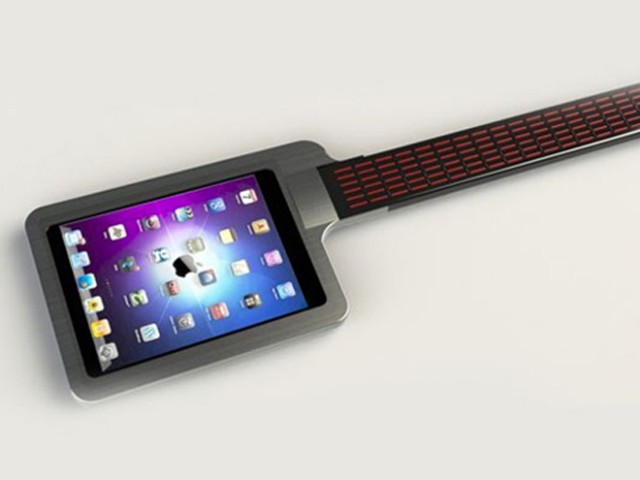 iTar, un iPad comme guitare !