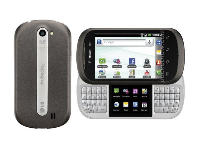 LG Doubleplay : un mobile avec deux écrans tactiles