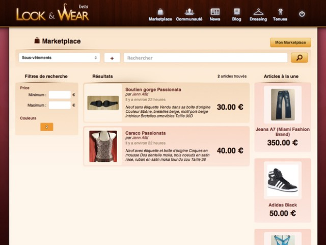 Look&Wear, le réseau social de la mode