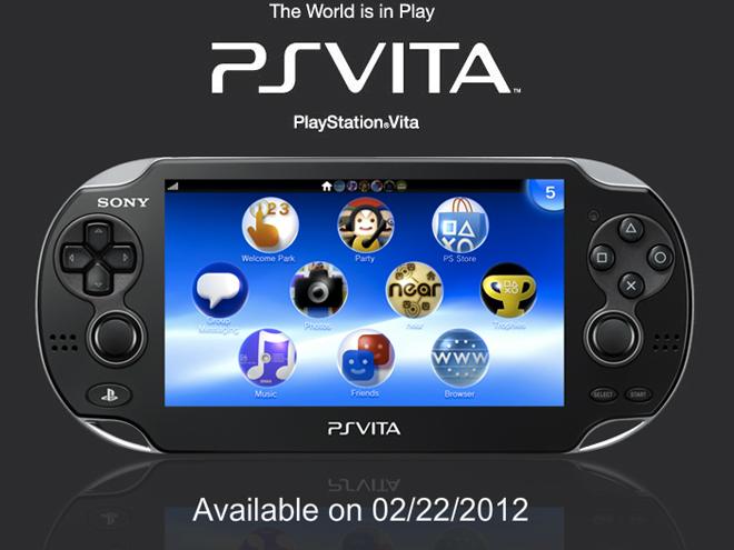 PlayStation Vita : arrivée prévue le 22 février 2012