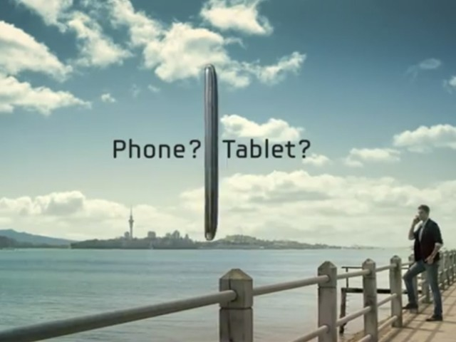 Samsung Galaxy Note : la première publicité