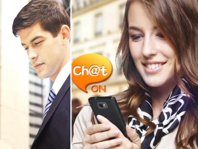 ChatON est disponible sur le Market et sur Bada