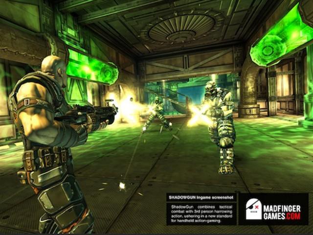 Shadowgun est disponible sur le Market... uniquement pour le Tegra 2