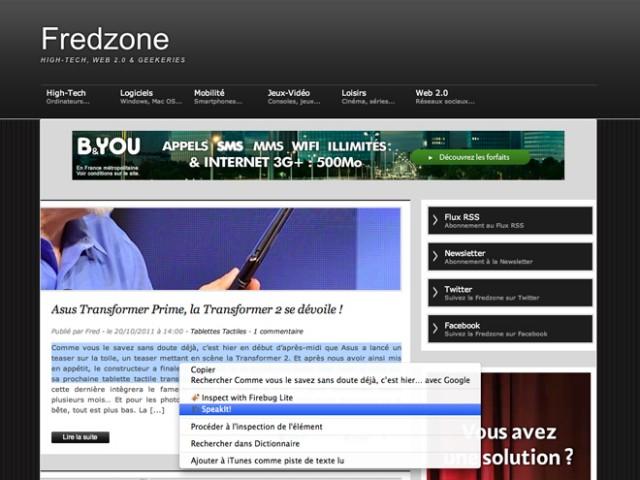 La synthèse vocale arrive dans les extensions de Chrome