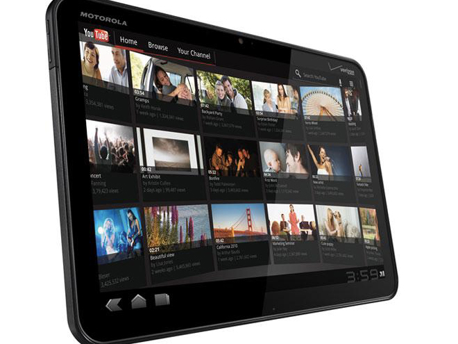 Motorola : 100.000 Xoom vendues au troisième trimestre