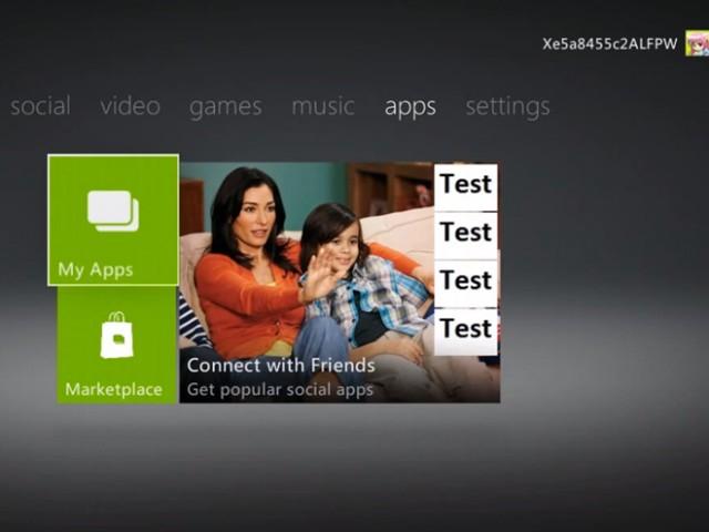 Une video du nouveau dashboard de la Xbox 360