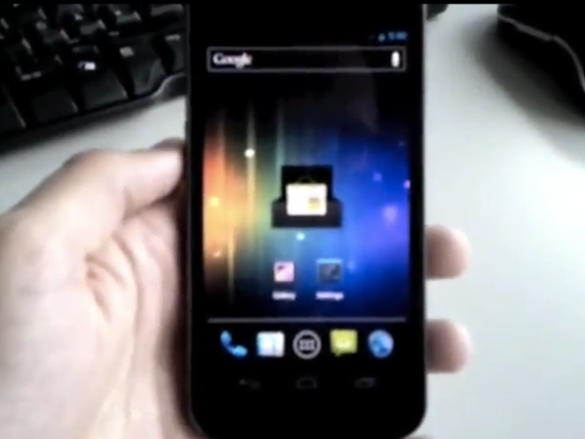 Une vidéo du Nexus Prime ?!