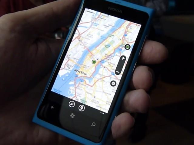 Vidéo : Nokia Drive sur le Lumia 800