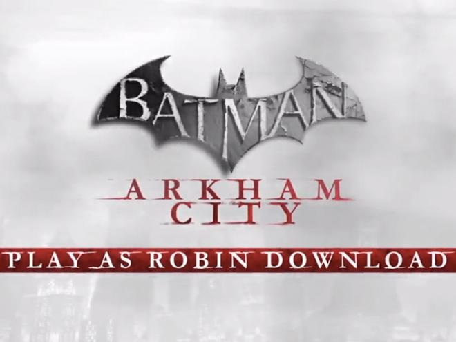 Batman Arkham City : Robin en vidéo !