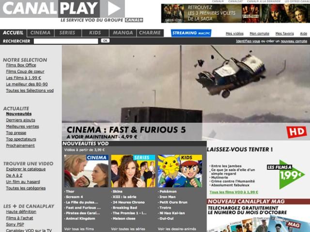 Canal+ : bientôt une offre VOD illimitée à 9,99 € par mois !