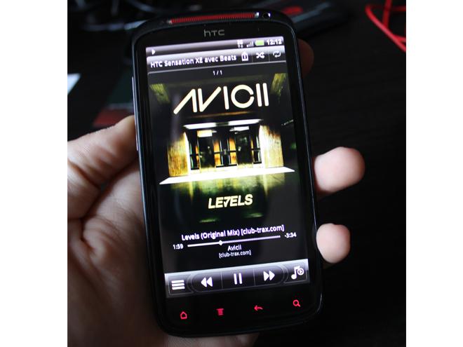 Test : HTC Sensation XE avec beats audio