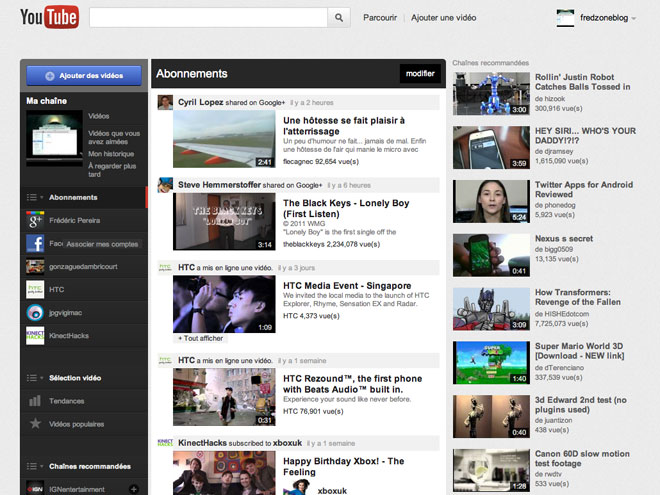 Activer la nouvelle interface de YouTube, c'est possible !