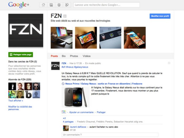 Google lance les badges Google+