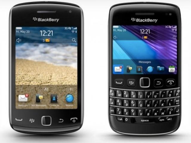 RIM a levé le voile sur le BlackBerry Bold 9790 et sur le BlackBerry Curve 9380