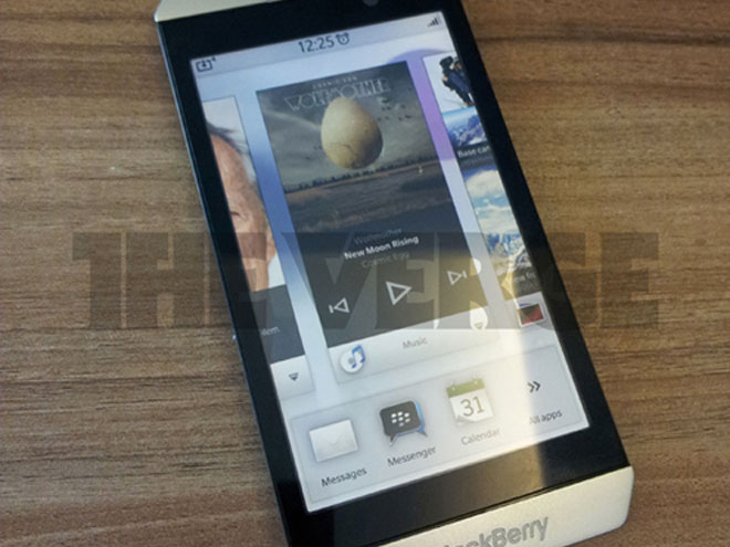 Le BlackBerry London pourrait être le premier mobile de RIM à embarquer BBX