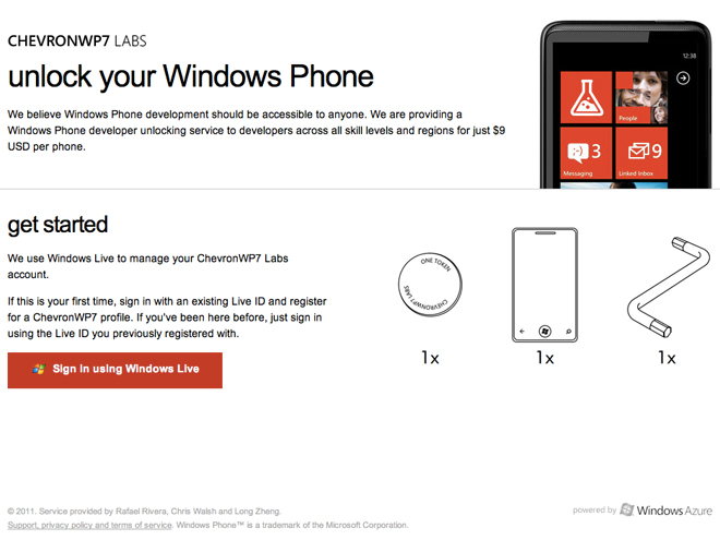 ChevronWP7 Labs : débloque ton Windows Phone 7