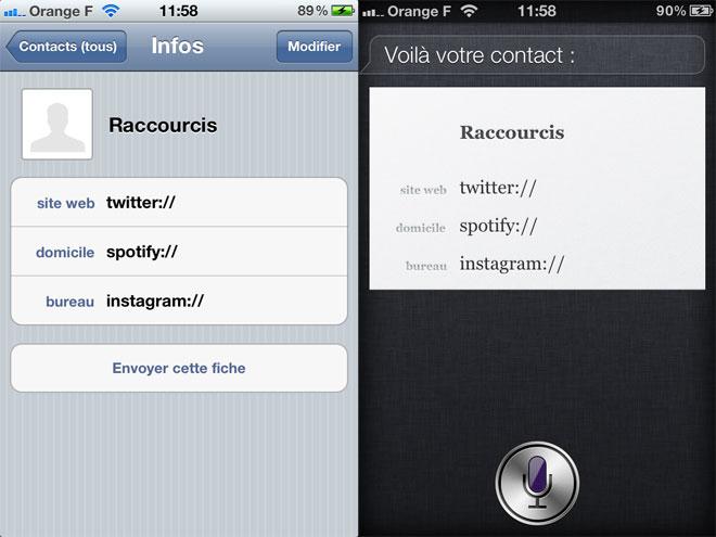 Lancer Twitter, Spotify ou encore Facebook avec Siri, c'est possible !