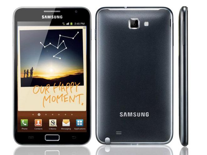 Samsung Galaxy Note : la sortie repoussée