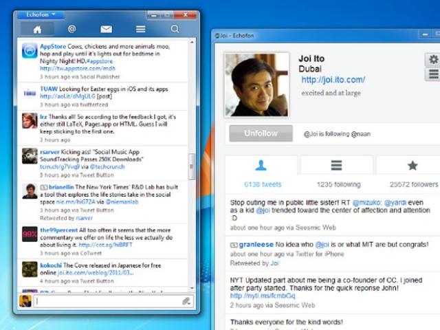 Echofon est maintenant disponible sur Windows !