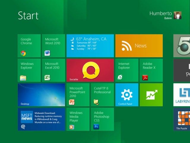 Windows 8 pour août 2012, Windows 9 pour novembre 2014