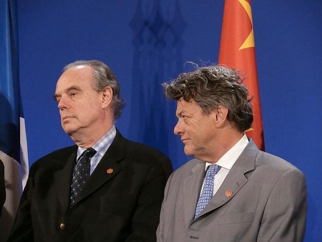 Selon Frédéric Mitterrand, la télévision connectée peut devenir un accélérateur du piratage